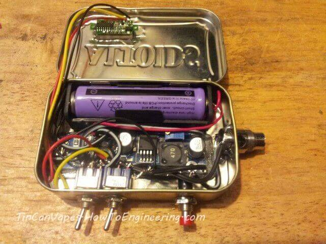 Altoids tin can vape