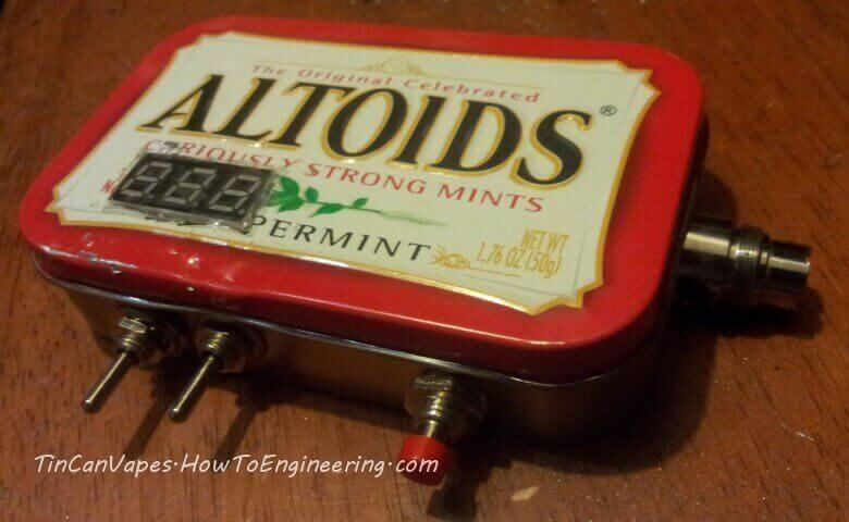 Finished Altoids vape box MOD